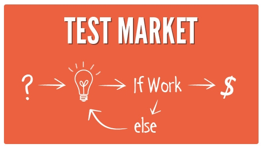 test marketing tactics
