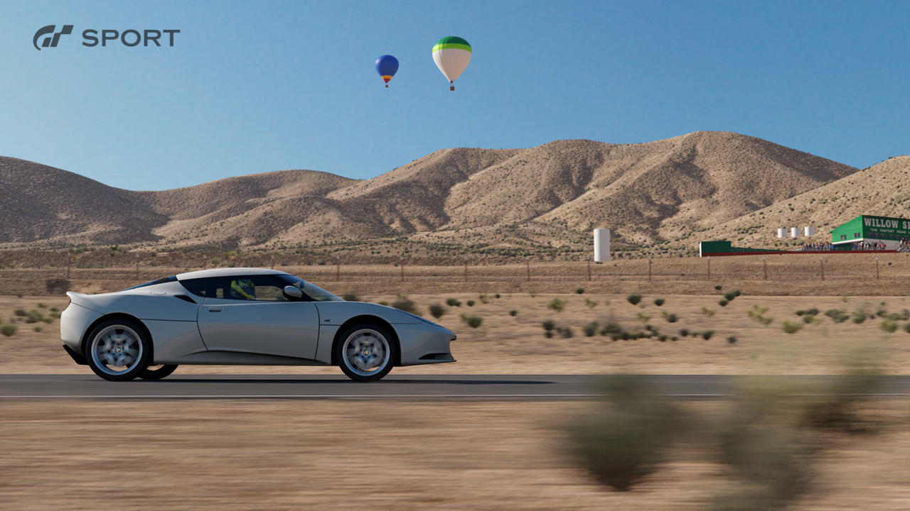 willow springs with balloons